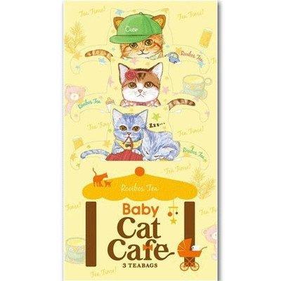 【小糖雜貨舖】日本 貓咪 泡湯 茶包 - 黃色