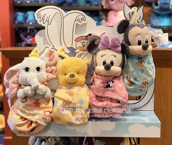 Miss莎卡娜代購【上海迪士尼樂園】預購﹞米奇 米妮 史迪奇 小飛象 維尼熊 桑普兔 嬰兒寶寶造型 送子鳥 絨毛娃娃玩偶