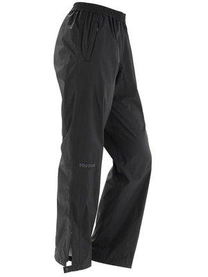 【Marmot】 46240-0001 黑色 美國 女 PreCip 土撥鼠 防水雨褲 類GORE-TEX