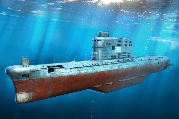 【HOBBY BOSS 83514】1/350 中國海軍 031型高爾夫級潛艇