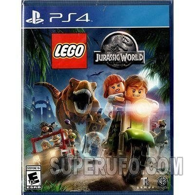 100% 全新 PS4 LEGO Jurassic World (USA) PS4-0166