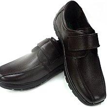 美迪~子母鱷魚BCF 8467 魔帶款-純皮氣墊休閒鞋-咖