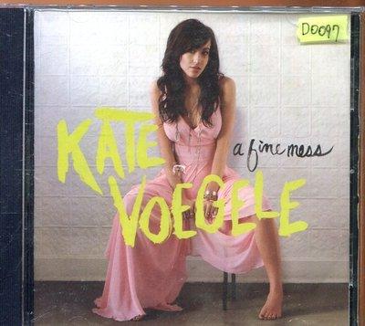 *還有唱片四館* KATE VOEGELE / A FINE MESS 二手 D0097 (封面底破)