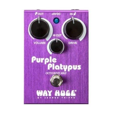 Dunlop WHE800 破音效果器【Purple Platypus/OctiDrive MKII/Way Huge】