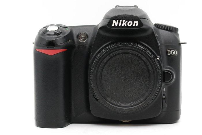 【高雄青蘋果3C】Nikon D50 單機身 610萬 APS-C 快門數約272XX次 二手單眼#39088