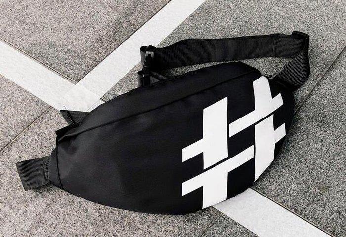 FINDSENSE X  男女 胸包日系斜挎包男女戰術包工裝機能腰包