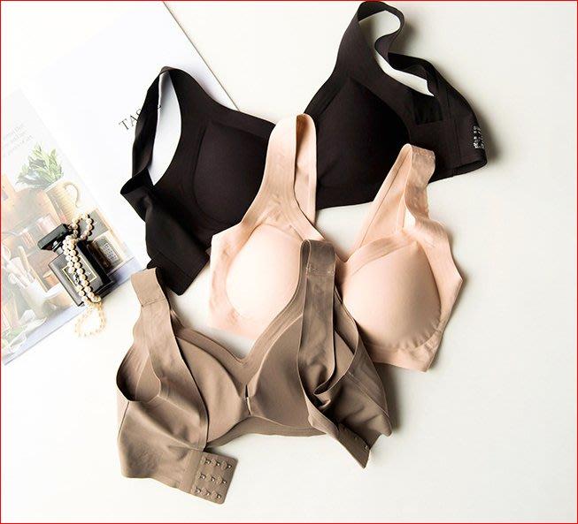 【艾蜜麗】一片式舒適無痕無鋼圈乳膠運動瑜珈內衣(3色) 1210