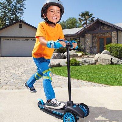 little tikes 三輪 滑板車 適合幼兒 容易平衡 藍 紅 兩色