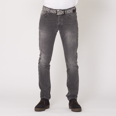 現貨 NUDIE Tilted Tor Crispy Grey 灰色 刷白 緊身 窄管 牛仔 丹寧 長褲 牛仔褲