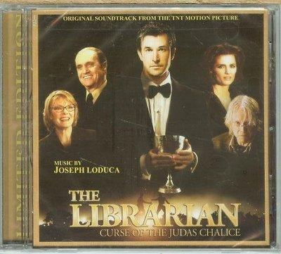"受詛咒的聖盃 Librarian-Curse of the Judas Chalice""-J LoDuca,全新美版18"