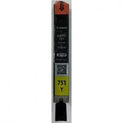 【CANON Y】CANON CLI-751Y 原廠黃色(裸裝)墨水匣(CLI-751) 桃園市