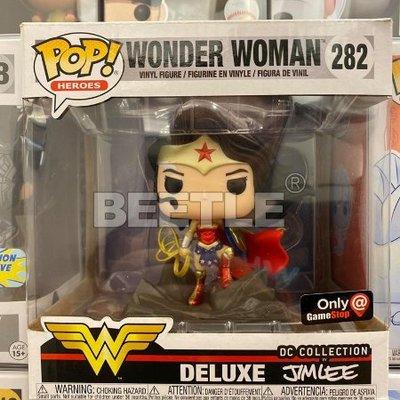BEETLE FUNKO POP DC 神力女超人 WONDER WOMAN JIM LEE GAME STOP 版本