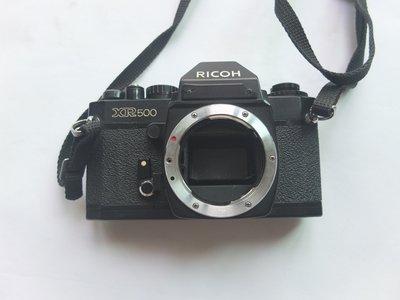 Ricoh XR500 底片機 機身 零件機 殺肉機 古董相機