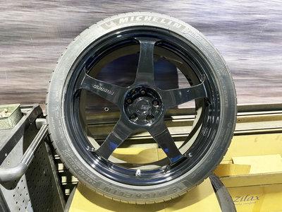 二手圈 BC RT50 鍛造鋁圈 20吋 5/108 8.5J ET38 含胎 PS4S 9成新 VOLVO XC40