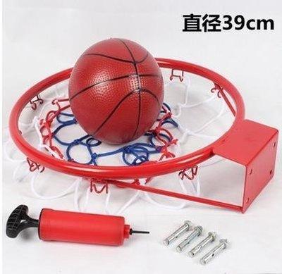 【籃球框-兒童休閒款-39cm-鋼材+噴塑-1套/組】標準籃球框 兒童籃框 壁掛式籃框-56007