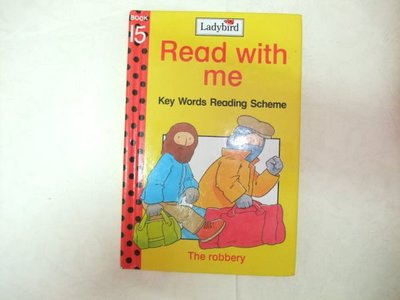 Ladybird Read with me The robbery