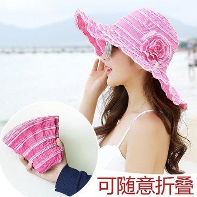 遮陽帽子女夏季防曬帽沙灘帽