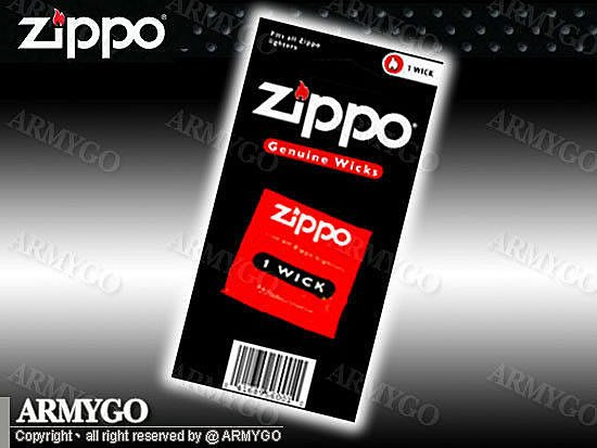 【ARMYGO】美國原廠-ZIPPO 棉芯