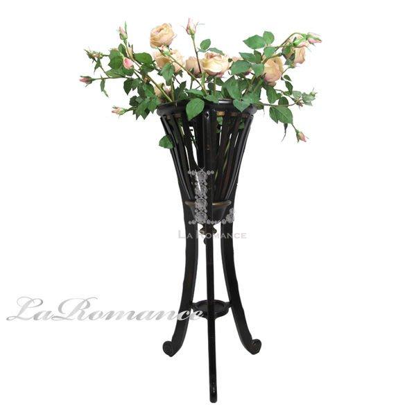 【芮洛蔓 La Romance】Mindy Brownes 典雅實木花架 / 花器 / 花盆 / 園藝用具