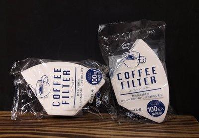 【多塔咖啡】日本進口 日本井出 102 酵素漂白 扇形濾紙 (2~4人) 100入 美式壺可用 流速優於Kalita濾紙
