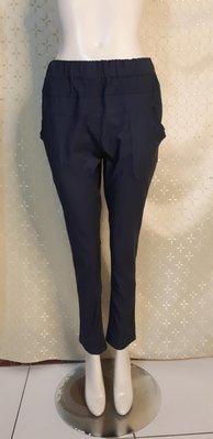 J200 品牌ADORABLE 腰鬆緊 星空藍色 彈性長褲 L號
