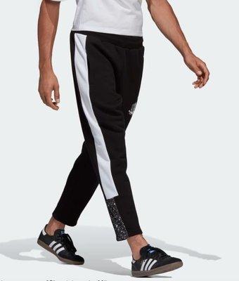 【Dr.Shoes 】Adidas Planetoid Sweat Pants 男裝 黑白 潑墨 休閒長褲 DX6012