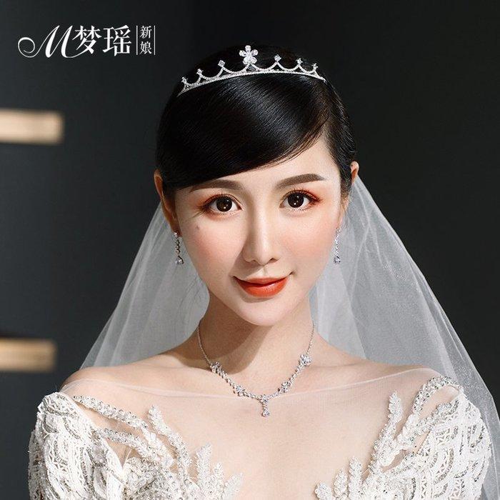 西柚姑娘雜貨鋪☛熱賣中#鋯石皇冠精致小王冠婚禮頭飾品韓式時尚氣質婚紗禮服發飾