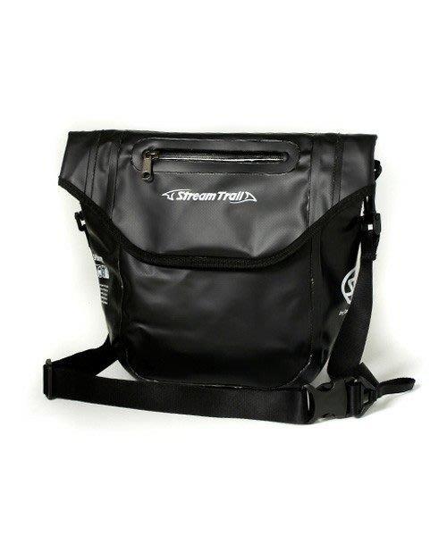 日本品牌STREAMTRAIL戶外防水包/斜揹包/通勤包/口袋隨身包Pocket Master DX 瑪瑙黑