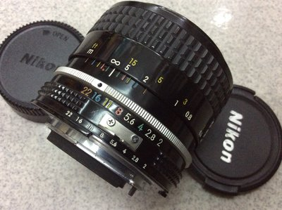 [保固一年] [高雄明豐]  NIKON AI  35mm F2 AI 接環 廣角定焦鏡頭 全幅 ˉ便宜賣