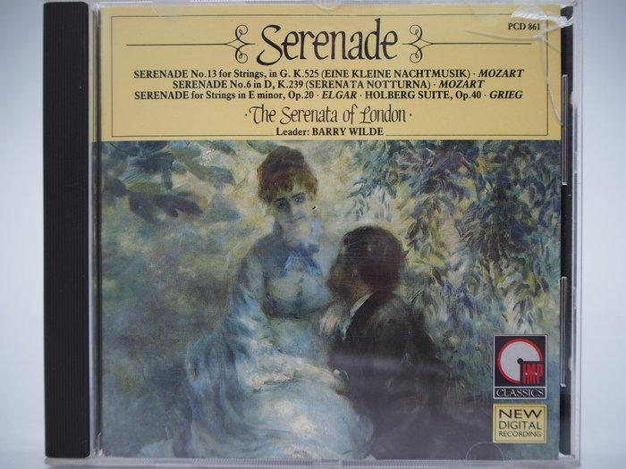 【月界】Serenade·The Serenata of London·PCD 861(絕版)_古典樂 〖專輯〗CIR
