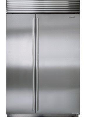 唯鼎國際【美國Sub-zero冰箱】ICBBI-48SID/S/TH 48吋原廠不銹鋼門(含柱狀把手)門內取冰取水