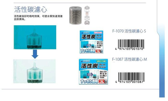 《魚趣館》日本Suisaku水作內置空氣過濾器S型活性碳濾心/水妖精 水中過濾器
