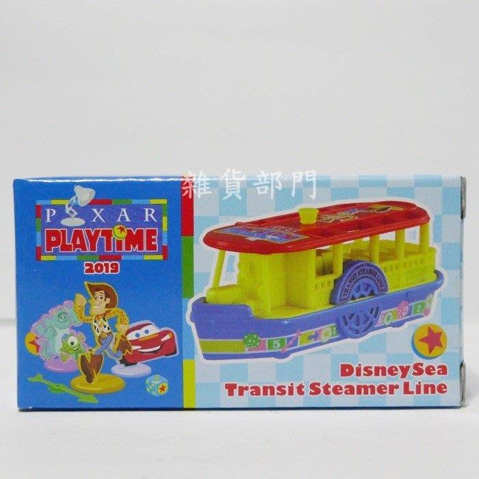 *雜貨部門*東京 迪士尼 35周年 樂園限定 TOMICA 玩具總動員 渡輪 特價451元