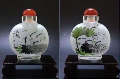 連年有余中國特色手工藝品創意商務禮品送長輩外事純手工內畫鼻煙壺 壺說19