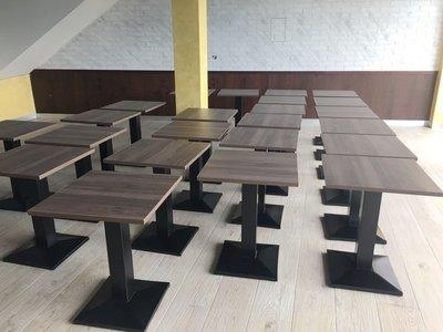 【鐵木創】塑合板 餐桌 耐油水 營業用 桌椅  餐桌椅組飯桌 辦公桌 電腦桌 書桌 休閒桌