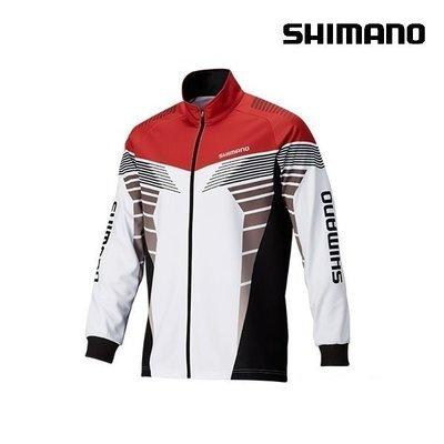 【NINA釣具】SHIMANO SH-091P 秋冬刷毛保暖長袖 外套 L/XL