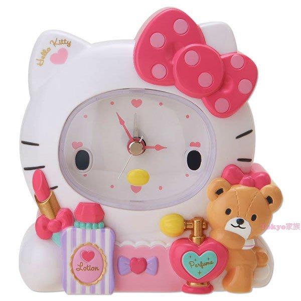 東京家族 kitty 精美鬧鐘 時鐘