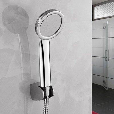 ☜shop go☞【P580】超強輕量扁式蓮蓬頭 花灑 淋浴 加壓  通用 太陽能 熱水器 浴室 沐浴 洗澡必備 薄款