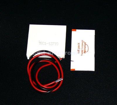 【UCI電子】(12-6) 送散熱膏 半導體致冷晶片 TEC1-12710 製冷 溫度調節 寵物冷水機 魚缸