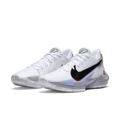 "Nike Zoom Freak 2 ""White Cement"" CK5825-100 白水泥 字母哥"