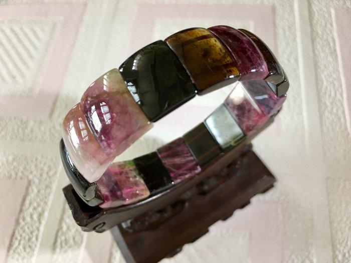 *藏雅軒*天然礦石電氣石-碧璽手排-32g-501