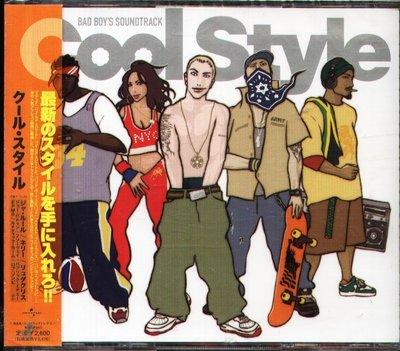 K - COOL STYLE - BAD BOY'S SOUNDTRACK - 日版 - NEW NELLY