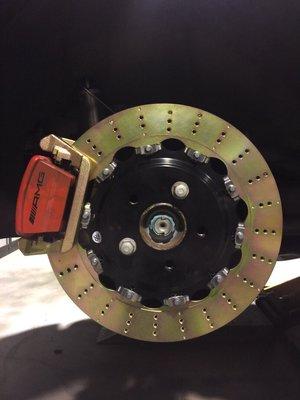 泰山美研社 Y3334 MAZDA 馬自達 進口 改裝 加大碟盤 馬3 CX-5