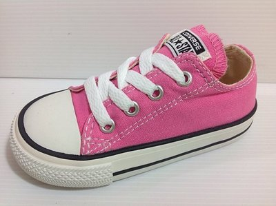 converse ALL STAR 孩童/小童/北鼻 經典款帆布鞋 粉色 13cm~16.5cm