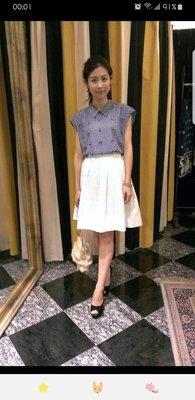 日本貴婦品牌GRACE CONTINENTAL超美水鑽格紋上衣