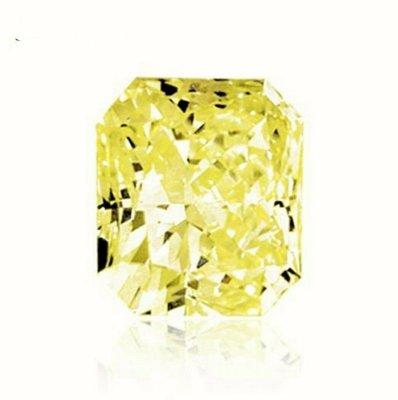 GIA 0.83CT FANCY LIGHT YELLOW / SL2