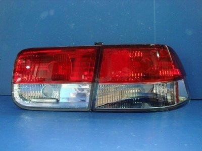 小亞車燈╠ 全新外銷限量 喜美 六代 K8 2D COUPE 紅白 晶鑽 尾燈 組特價中