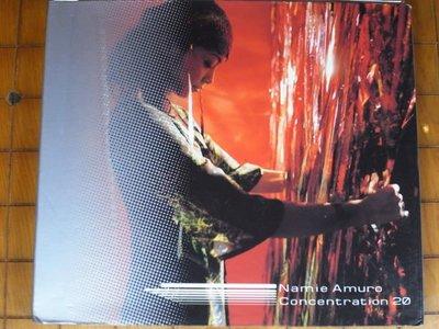*阿威的音樂盒*【 Namie Amuro---Concentration 20】近新 附中文歌詞
