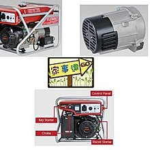 宇慶S舖㊣日本原裝 ELEMAX -SV6500-D 澤藤引擎發電機-6500w-110V/220V