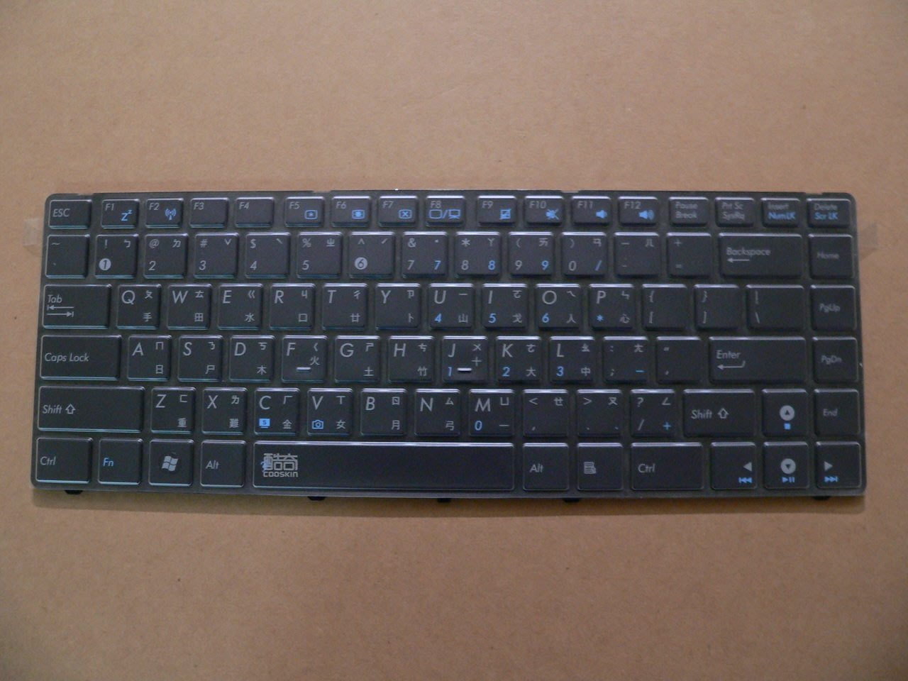 華碩 ASUS TPU鍵盤膜 X42 X42J X42JA X42JB X42JC X42JE X42JK X42JP